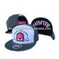 Costumbre snapback hat/6 venta al por mayor baratos panel snapback hat