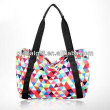 canvas colorful women handbag 2013