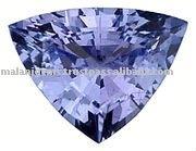 AA Royal Blue Tanzanite Trillion Cut Loose Gemstone