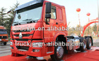 used tractor Trucks/spare parts of heavy generator/double cabin China truckHOWO Tractor Trucks/11wheel truck /trialer