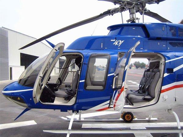 helicóptero bell 407 vip