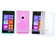 Newest Arrival TPU mobile phone cover for nokia lumia 925 capa para celular