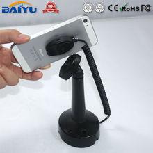 Angle adjustable plastic mobile phone display support holder