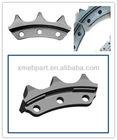Komatsu D65/D60 bulldozer undercarriage parts - sprocket segment group