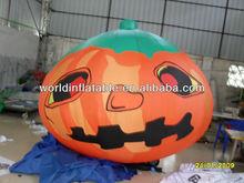 large plastic halloween pumpkin