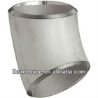 high quality stainless steel 45 degree pipe elbow dimensions