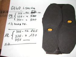 stock lot rubber soles