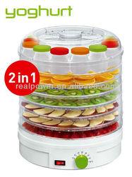 2 in 1 food dehydrator with food dehydrator and yogurt maker