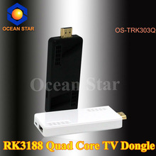 factory in stock rk3188 android 4.2 quad core smart tv dongle