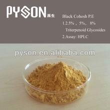 100% purity 5% Triterpenoid Glycosides HPLC Black Cohosh P.E.