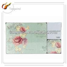 TWP-0017 Wholesale Cloverleaf Floria Placemat/Vinyl Placemats/Placemat Printing