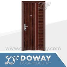 Exterior Security Deep Bending Design Heat Transfer Printing Steel Main Door