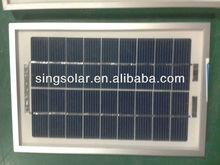 6V 3watts Monocrystalline /Polycrystalline Solar Panel