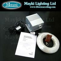 328 led light solar fiber optics lights