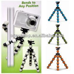 Good quality gripping Flexible tripod, digital camera tripod