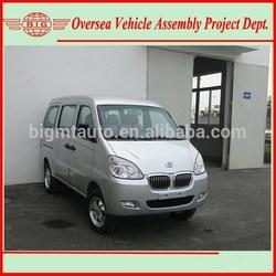 Euro IV Standard 8 Seats Gasoline Engine A/C Mini Bus Van