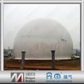 Membrana Gas Storage System - para planta de biogas, Gestión y Electricidad Residuos
