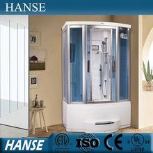 6mm tempered glass adult steam room complete massage steam shower room HS-SR9015-1X