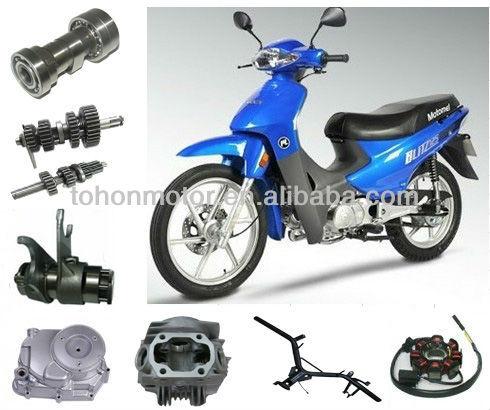 Pièces de moto bon marché chinois motomel 110 125 blitz, haute performance& moto pièces