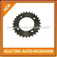 Chainwheel-28T BLACK (420 size) electric tuk tuk