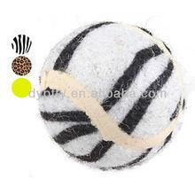 Jumbo colorful dog toys tennis ball pet