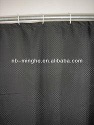 fabric diamond shower curtain