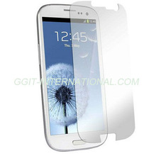 Hot Sell Mobile Phone Protector for Samsung S3 I9300 Clear Screen Protector