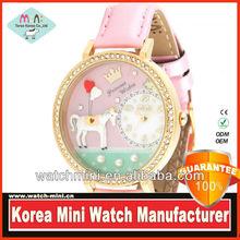 Model MN1018 New Korea Handmade Mini Watch Phone