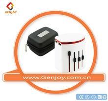 SNOW WHITE Traveller Adapters Travel adapter Plug Korea for SAMSUNG