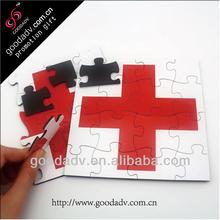oem design children magnet puzzle/fridge magnets puzzle