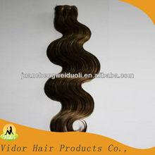 100% Remy emaranhado livre Natural corpo onda cabelo brasileiro trama