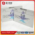 Pvc etiquetas rfid/rfid tarjetas inteligentes/rfid mifare tarjeta de