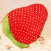 stuffed plush strawberry pillow cute rest pillow soft toy cushion