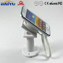 White plastic mobile phone display holder-Lingling Dog Brand