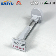 Stainless steel security display peg hooks
