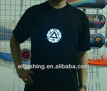 New design Iron Man EL t-shirt