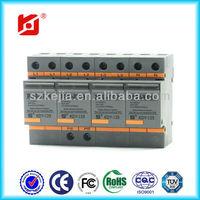 Surge Protector 10/350 25kA SPD/low voltage lightning surge arrester KDY-I25/440/4P