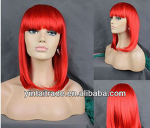 Wholesale 2013 best selling red halloween wigs/red party wigs/carnival wigs