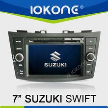 "IOKONE 7"" HD Touch Screen Car DVD Player Radio with GPS For SUZUKI SWIFT"