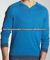 Gents Flat Knitted Fashion Sweater
