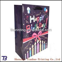 2014 Fashionable paper bag gift