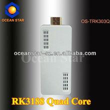 RAM DDR3 1GB/2GB RK3188 quad core tv dongle