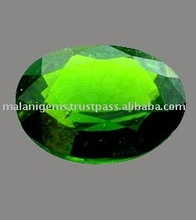 Loose Natural Chrome Diopside Calibrated Oval Cut Stone