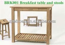 Café da manhã mesa de jantar e cadeiras / mesa de jantar e cadeira conjunto
