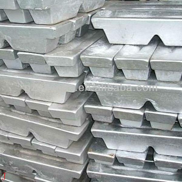 Fabrika çıkış fiyatı yüksek kaliteli alüminyum külçe 99.7