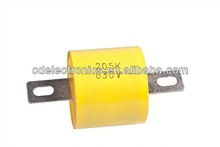 high quality mea metallized polypropylene film capacitor - axial lead cbb20