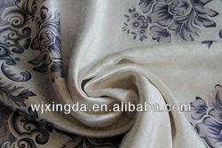 shading jacquard 100% polyester window curtain fabric