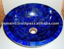Lapis Lazuli Mosaic Sink