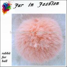 Plush Rabbit Fur Pompon