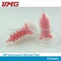 Impresión dental dinámico puntas de mezcla/de silicona puntas de mezcla